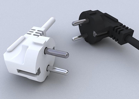 How to distinguish the specifications of power cords with plugs?